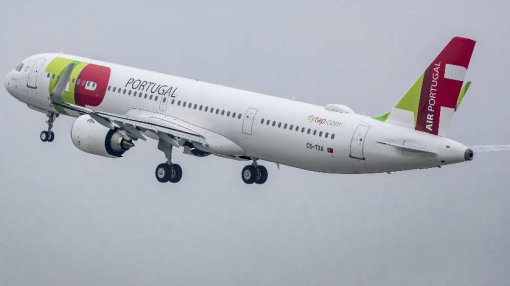First Airbus  A321LR to TAP Air Portugal