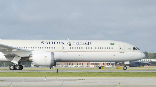 Saudi Arabian Airlines Welcomes Its First Boeing 787-10 Dreamliner