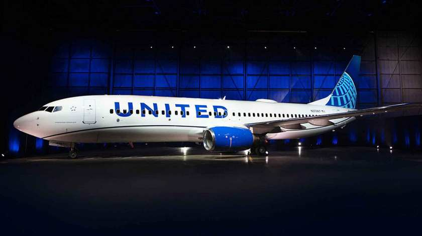 United Airlines Goes Blue: Unveils New Livery