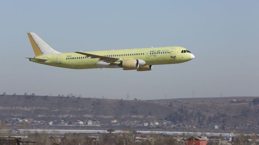 Third MC-21-300 Aircraft Joins Flight Test Program
