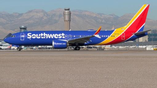 Southwest Boeing 737 MAX 8 Engine Shuts Down in Flight