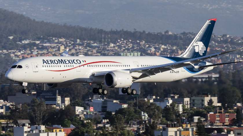 Aeromexico Boeing 787 Faces Speed Problems