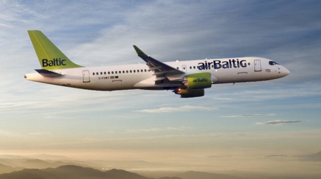 airBaltic Orders up to 60 Bombardier CS300 Aircraft