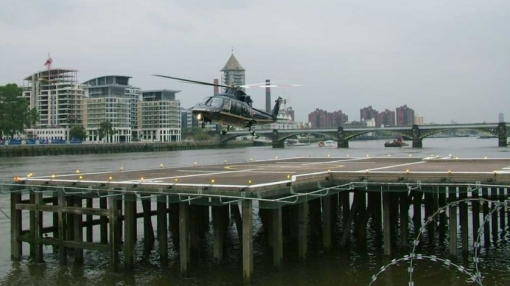 London Heliport Sees 5% Increase in Activity in 2017