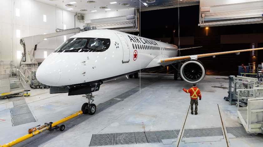 Air Canada Readies to Take First Canadian-Made A220-300 Aircraft