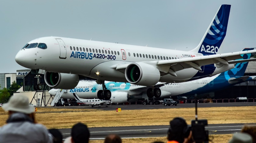 Bombardier Exits A220 Program Leaving Airbus with 75%