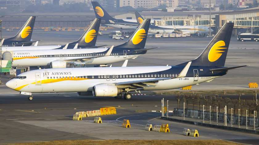 Leasing Problems at Jet Airways: 21 Aircraft Grounded