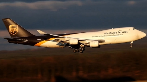 UPS Boeing 747 Overruns Runway on Takeoff