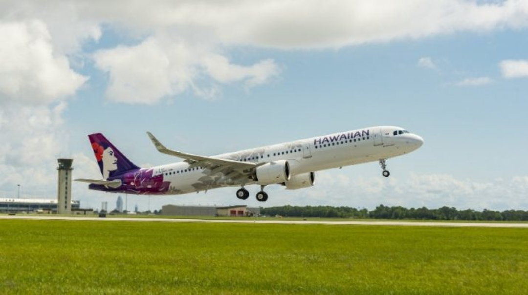 Hawaiian Airlines Receives its First US-Produced Aircraft