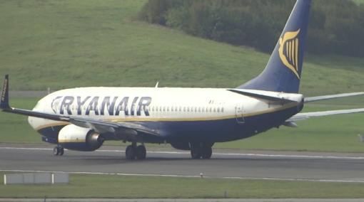 Ryanair Boeing 737 Overran Runway on Landing in Hamburg
