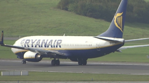 Ryanair Boeing 737 Overran Runway on Landing in Hamburg