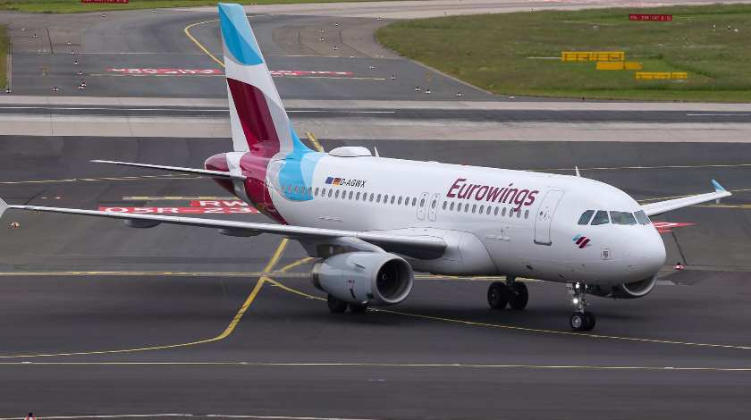 Turbulence Injures Eight on Eurowings Airbus A319 Flight