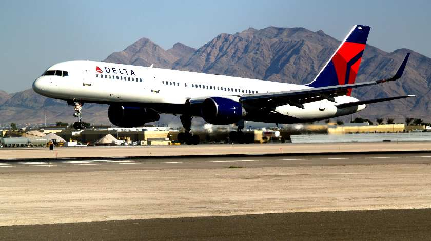 Delta Boeing 757 Encounters Bird Strike