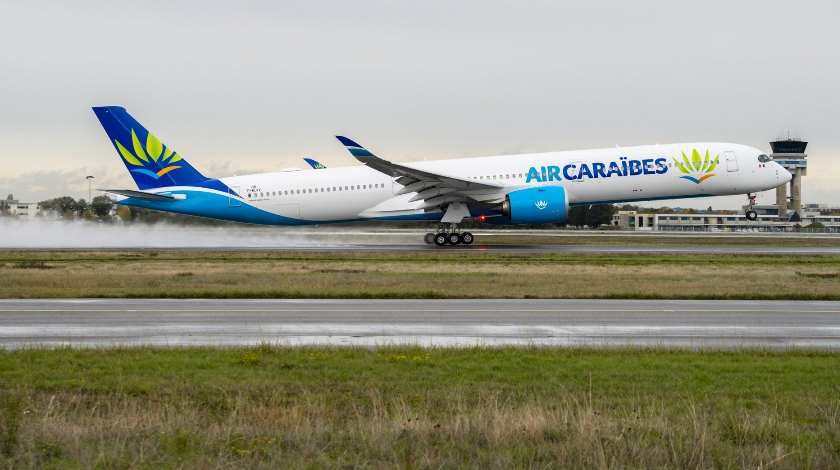 First Airbus A350-1000 Joins Air Caraïbes' Fleet