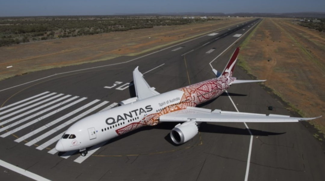 Qantas Starts History-Making Flight Direct to London