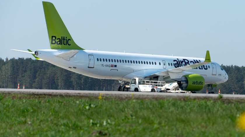 airBaltic Welcomes Its 17th Airbus A220-300