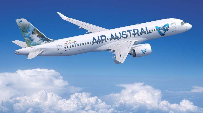 Air Austral and Airbus Sign a Purchase Agreement for Three A220s