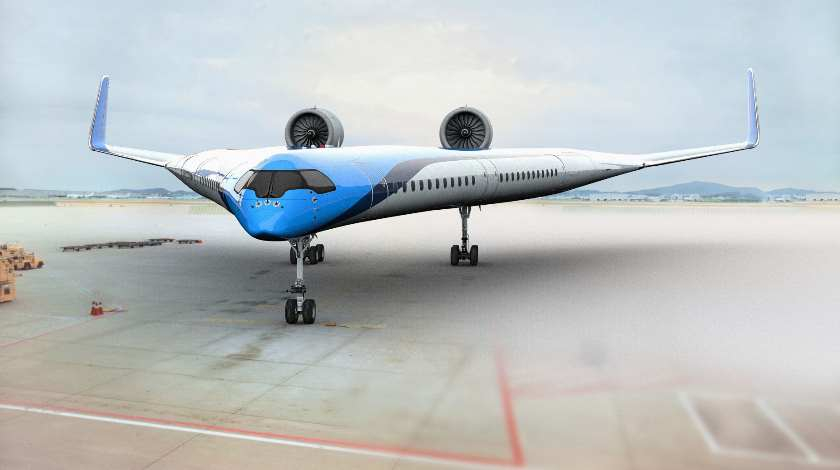 Radical New Aircraft 'Flying-V'. What Is It?