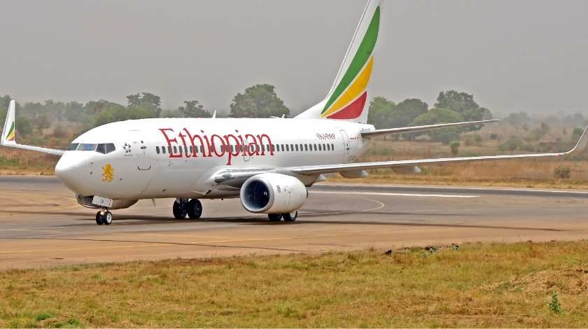 Ethiopian Airlines Boeing 737 with 157 On Board