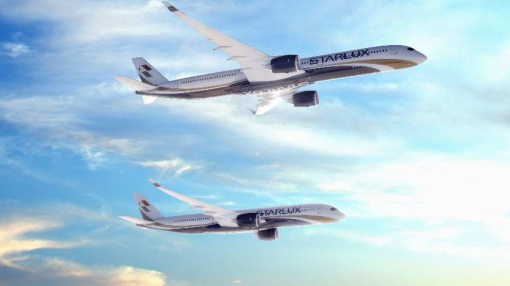 Taiwanese STARLUX Airlines Orders 17 Airbus A350s