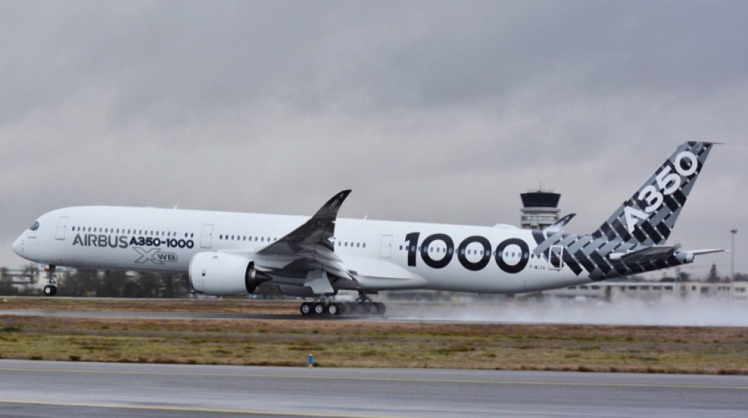 A350-1000 Begins Demonstration Tour in The Middle East & Asia-Pacific