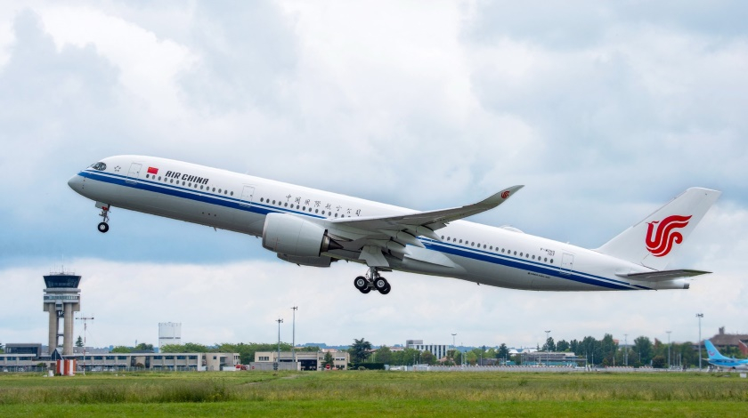 Air China Order for 20 Airbus A350s. Result of US-China Trade Dispute?