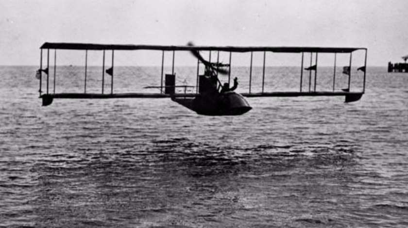 World's First Scheduled Passenger Airline Service on a Flying Boat
