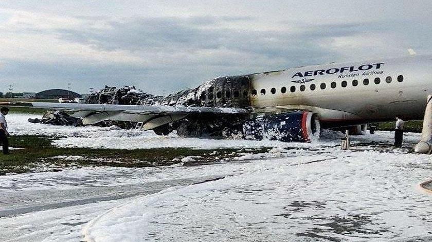 Aeroflot Plane Fire Leaves At Least 13 Dead