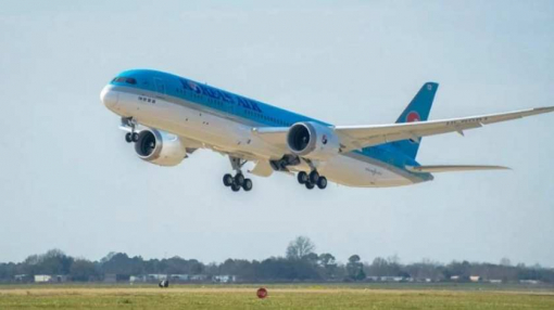 Korean Air Places Order for 20 Boeing 787 Dreamliners