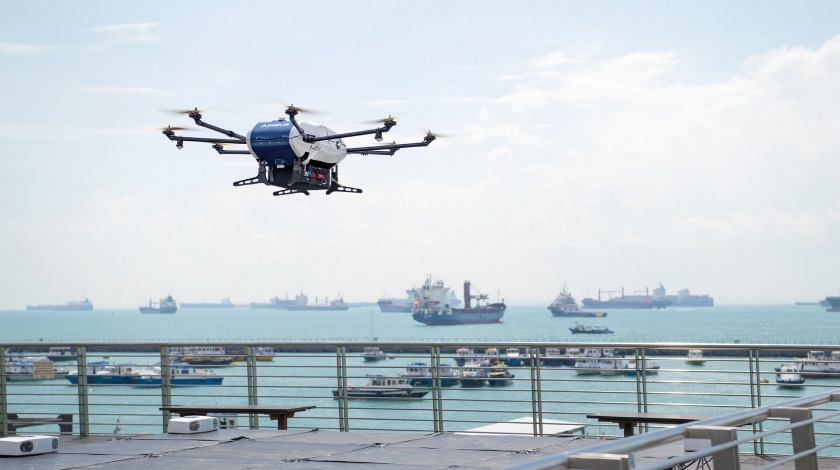 Airbus: Shore-to-Ship Drone Delivery Service