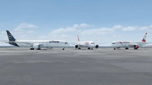 Lufthansa Group Orders 40 Boeing 787 and Airbus A350 Aircraft