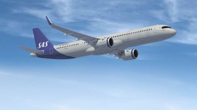 First New Airbus A321LR to Enter SAS Fleet