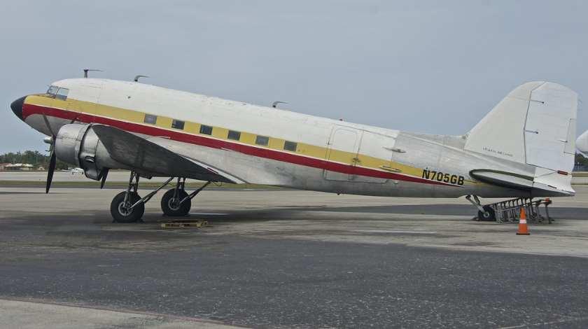Atlantic Air Cargo Douglas DC-3 Ditches Short of Runway