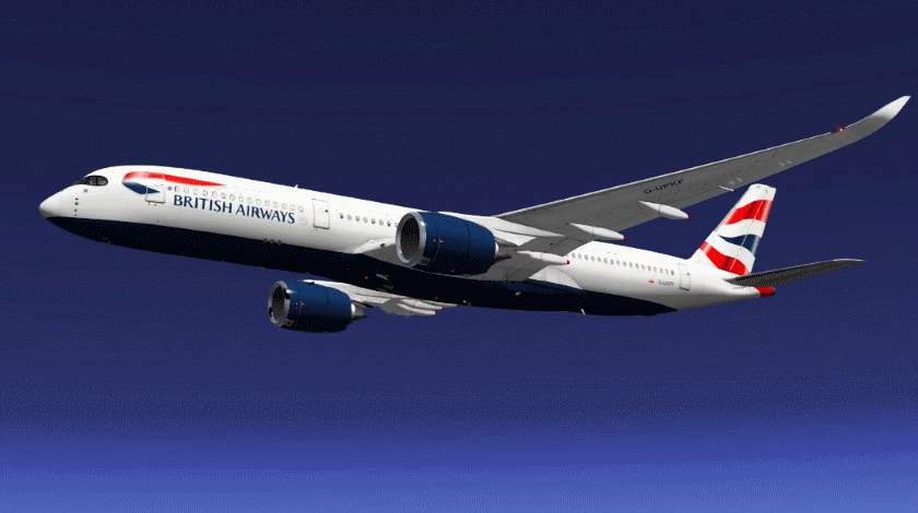 British Airways Unveils Its New A350 Aircraft