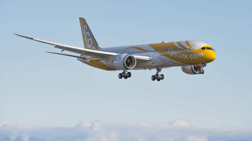 Scoot Stops Flying to Four Cities: Weak Demand and Aircraft Shortage