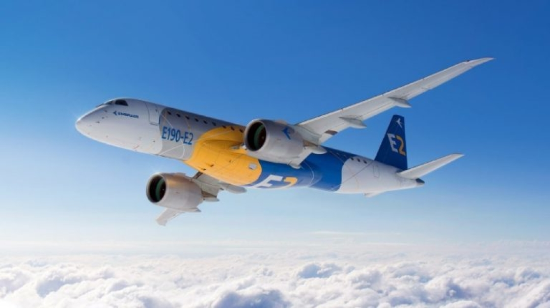 Test Results Confirm E2 as Most Efficient Single Aisle Jet