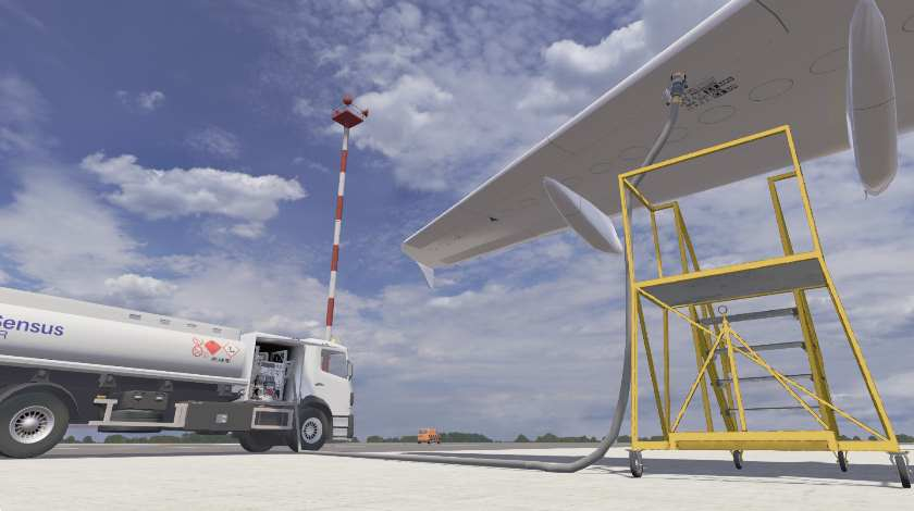 Aircraft Ground Handling Training Moves to Virtual Reality