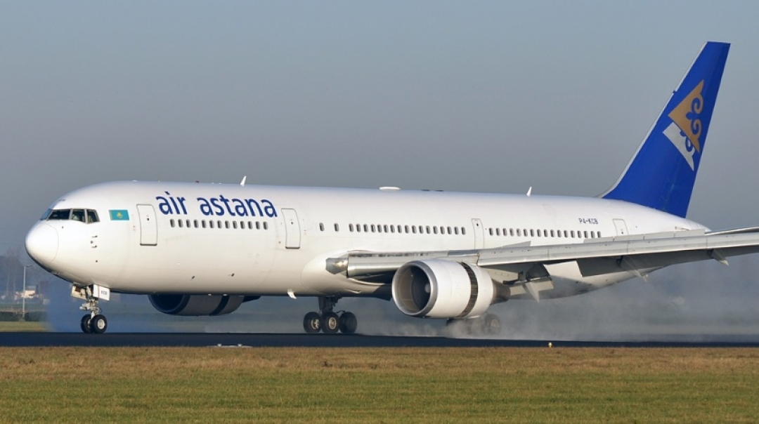 Watch Air Astana Airbus A320 Suffers Runway Excursion on Landing