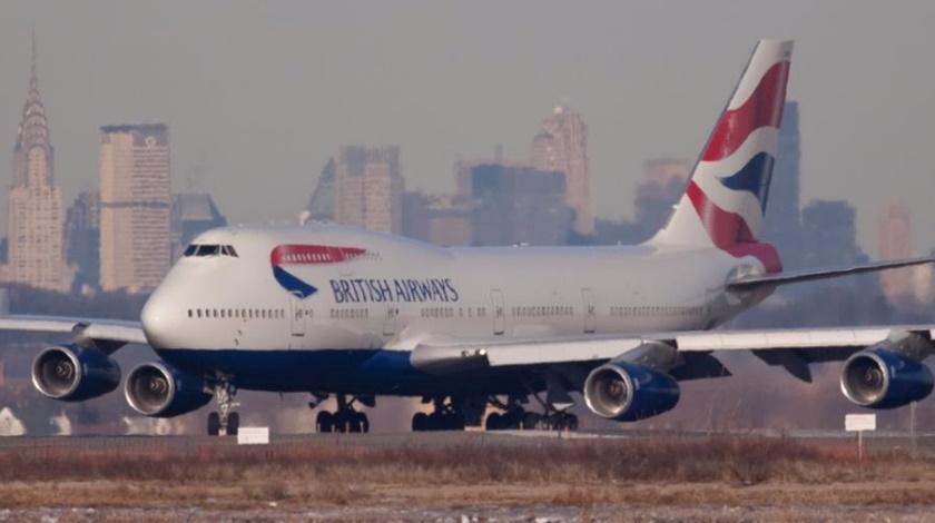British Airways Boeing 747 Breaks Transatlantic Speed Record