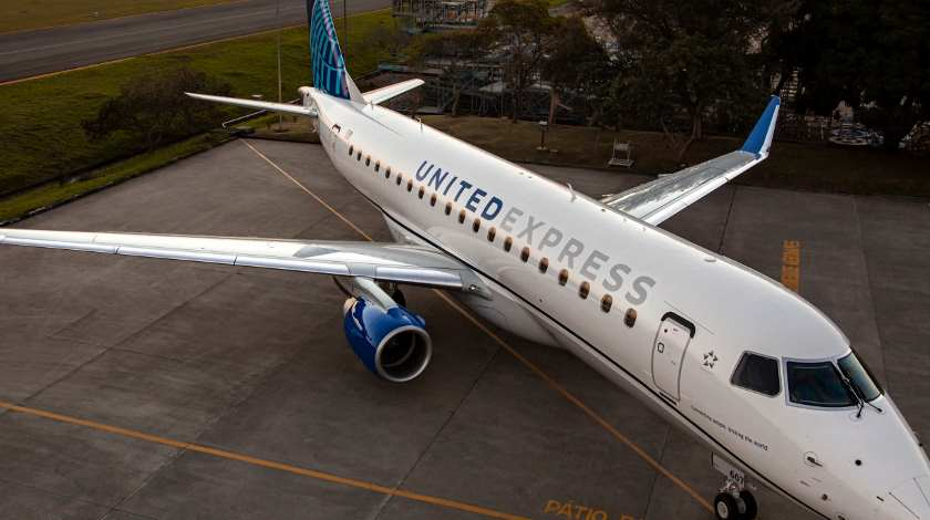 Embraer and United Airlines Go for 39 E175s