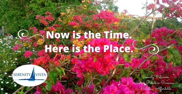 Here and Now is Where and When for Best Addiction Recovery at Serenity Vista Private Drug Rehab