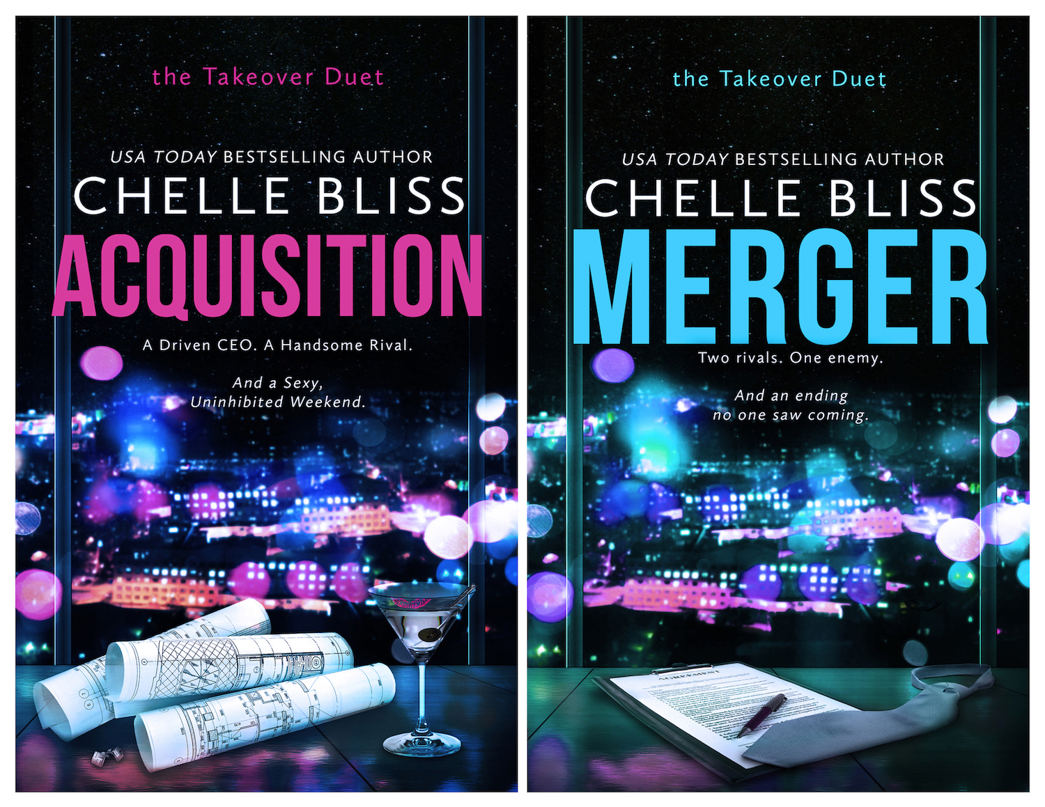The Takeover Duet by Chelle Bliss
