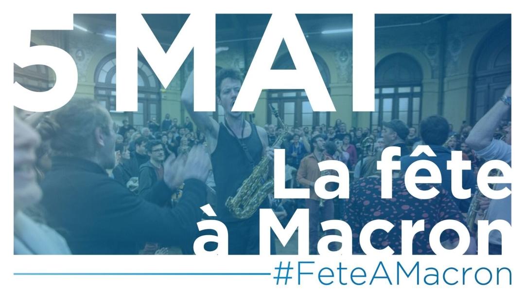 Convergence des luttes. Appel au 5 mai. La Fête à Macron !  6dedc9b2e2211560a0af2d63d7bdf07dbb969f23