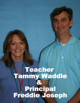 Teacher and HHS Principal Freddie Joseph