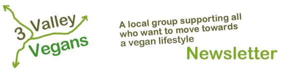 3 Valley Vegans Newsletter