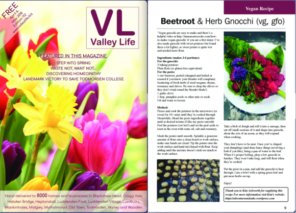 3VV contribution in Valley Life magazine