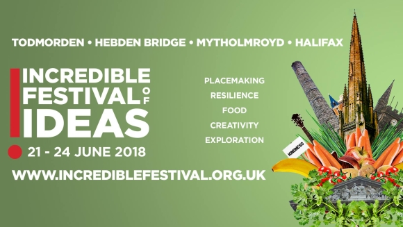Incredible Festival of Ideas banner