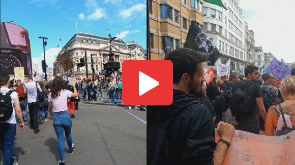 March through London