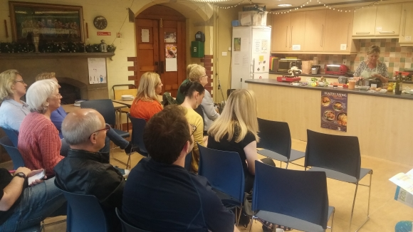 Photo from our cookery demo