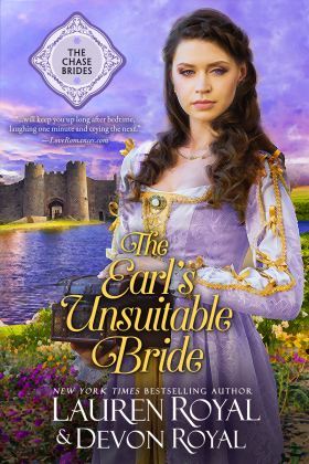 Amethyst & The Earl's Unsuitable Bride — Enable your images to see my book covers!